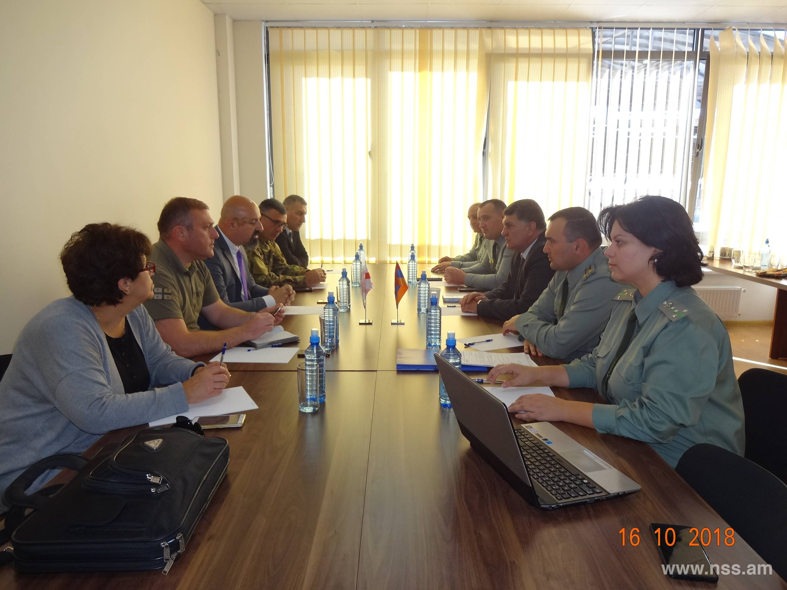 Meeting of  border representatives of the Republic of Armenia and Georgia