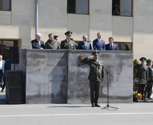Armenian border guards celebrated the professional holiday