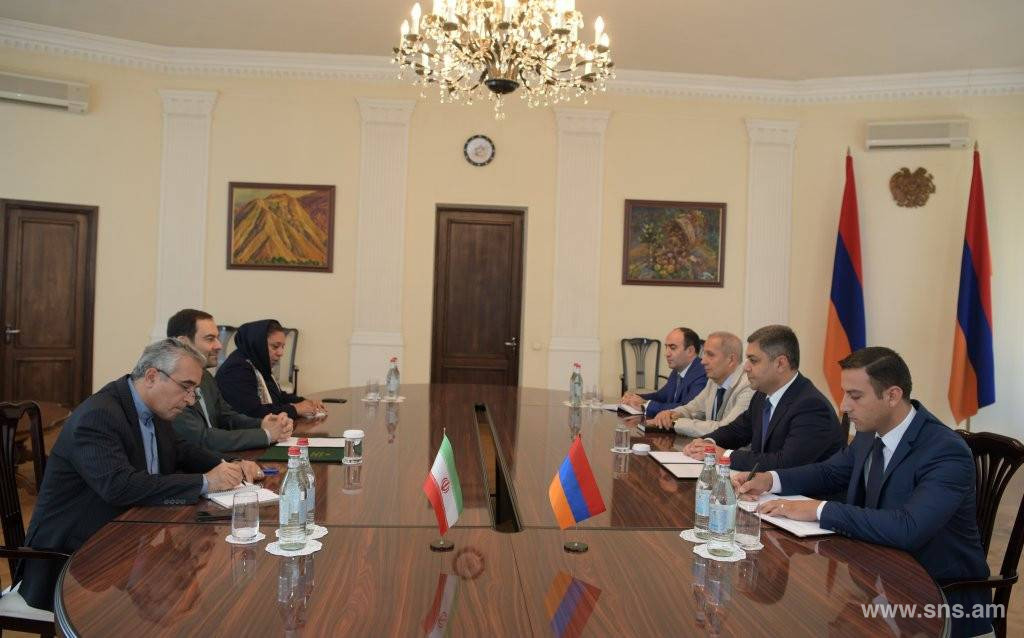 Armenia and Iran were and will be Friendly Countries: Ambassador Seyed Kazem Sadjadi Paid an Introductory Visit to NSS