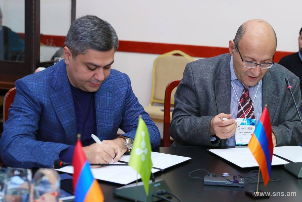 The National Security Service will contribute to the cyber security of Armenia