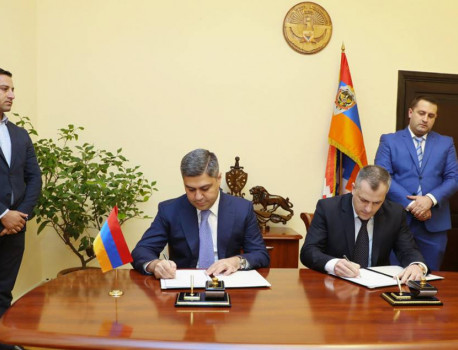 Agreement on Collaboration between National Security Services of the Republic of Armenia and the Republic of Artsakh