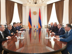 Director of the NSS of RA A.Vanetsyan Hosted the Delegation of the Antiterrorist Center of the CIS Member-States
