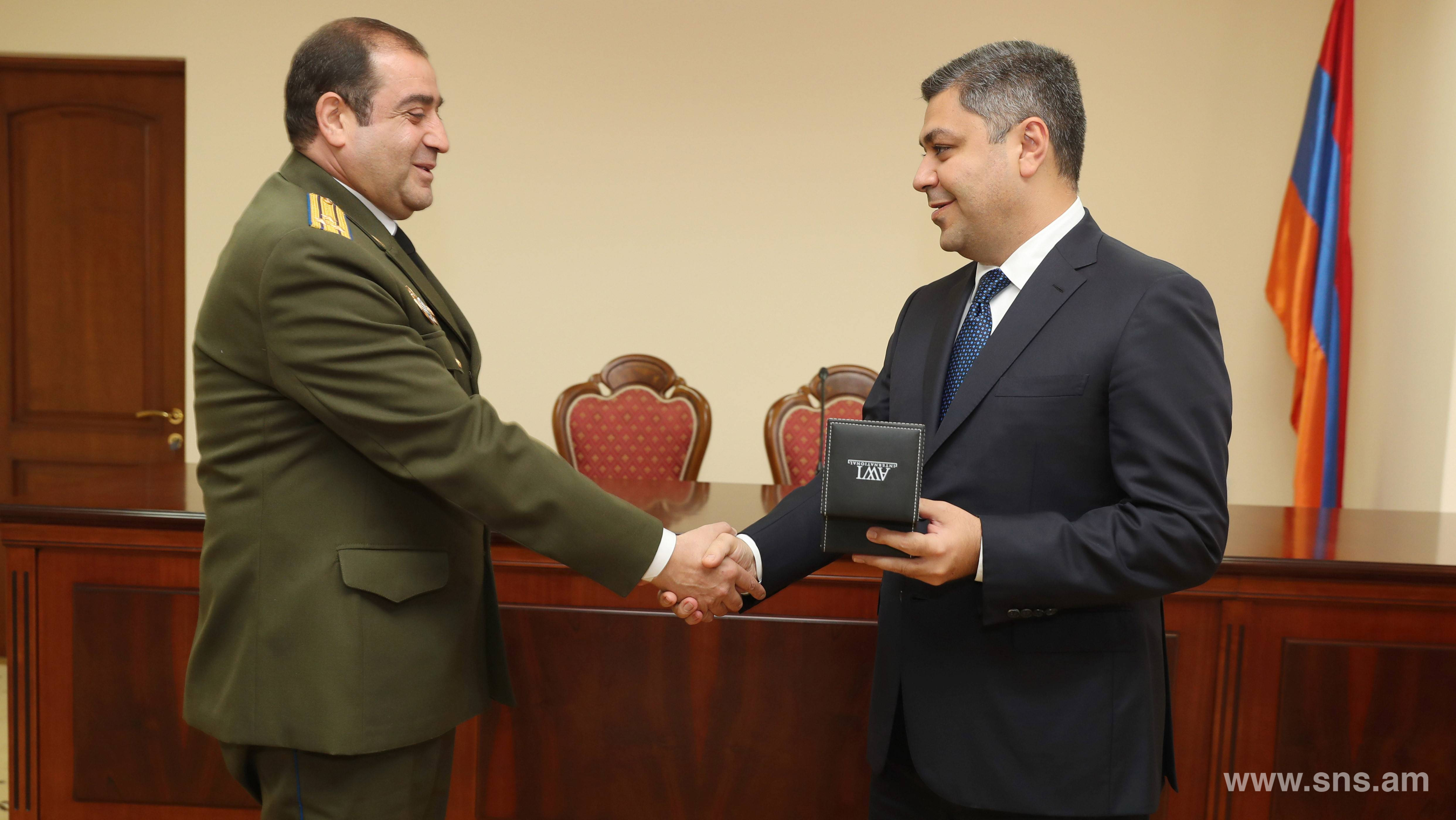 The State Protection Service of the NSS of RA celebrated the 27th anniversary of its formation
