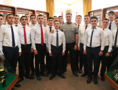 Artur Vanetsyan Participated in the Oath Ceremony of Soon-to-Be Cadets