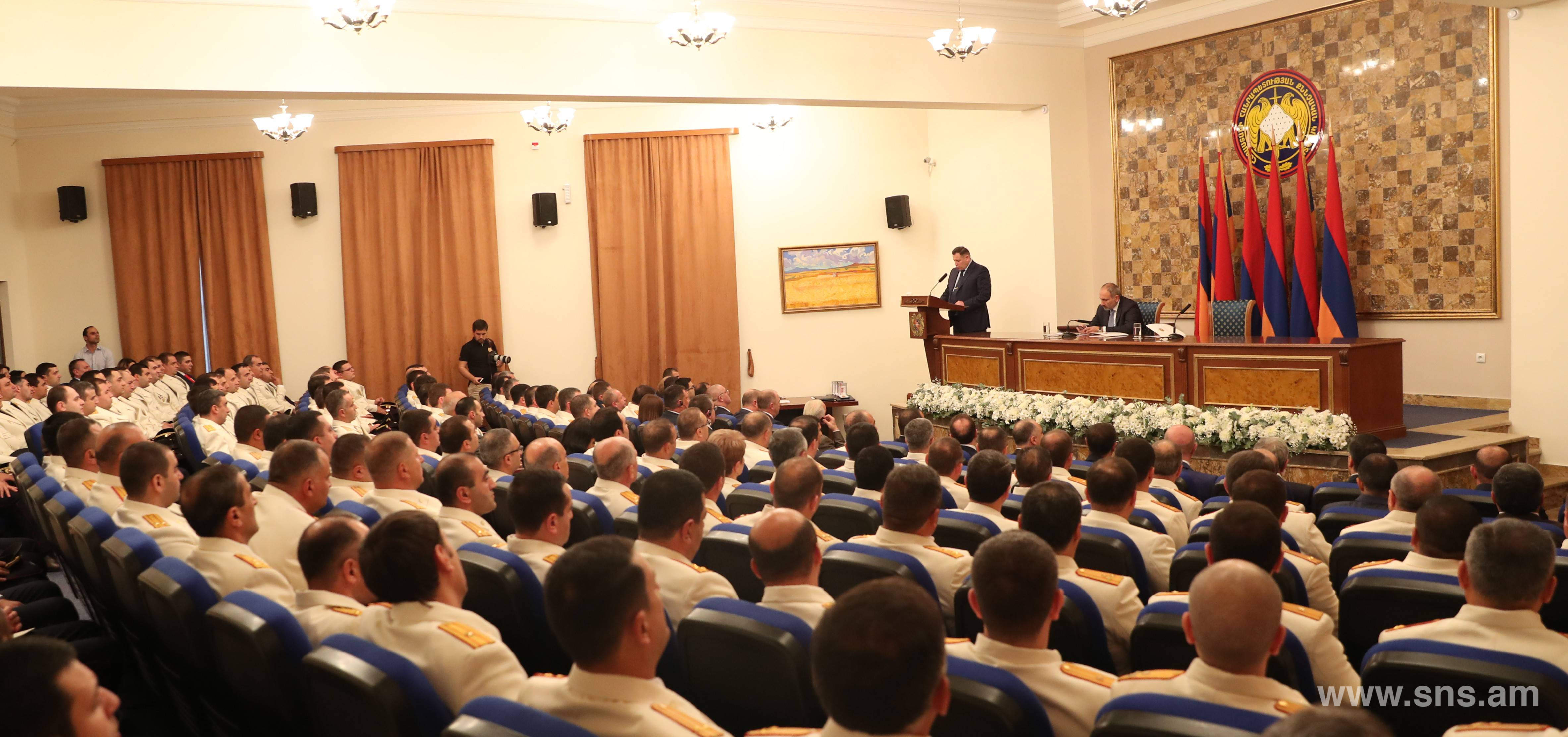 E. Martirosyan participated in the ceremonial event on the occasion of 5th anniversary of the formation of the RA Investigative Committee.