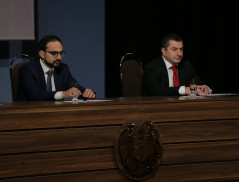 ''The new Armenia born from the people's Revolution assumes a new quality of Penitentiary service, a higher democratic and judiciary level.'' E.Martirosyan