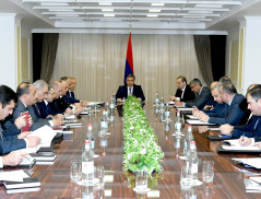 Session of Council Adjunct to Director Held in the National Security Service of the RA