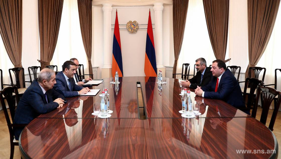 Eduard Martirosyan Hosted Head of MIA Border Police of Georgia