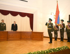 Officer's Day of Security Authorities of Armenia Celebrated
