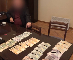 NSS Detected Another Case of Receiving Bribe
