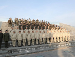 E. Martirosyan participated in festive events dedicated to 28th anniversary of Armenian Army