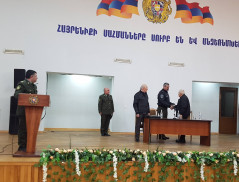 85th anniversary of the first commander of Border guard troops was solemnly celebrated at Border guard troops of the NSS of the RA