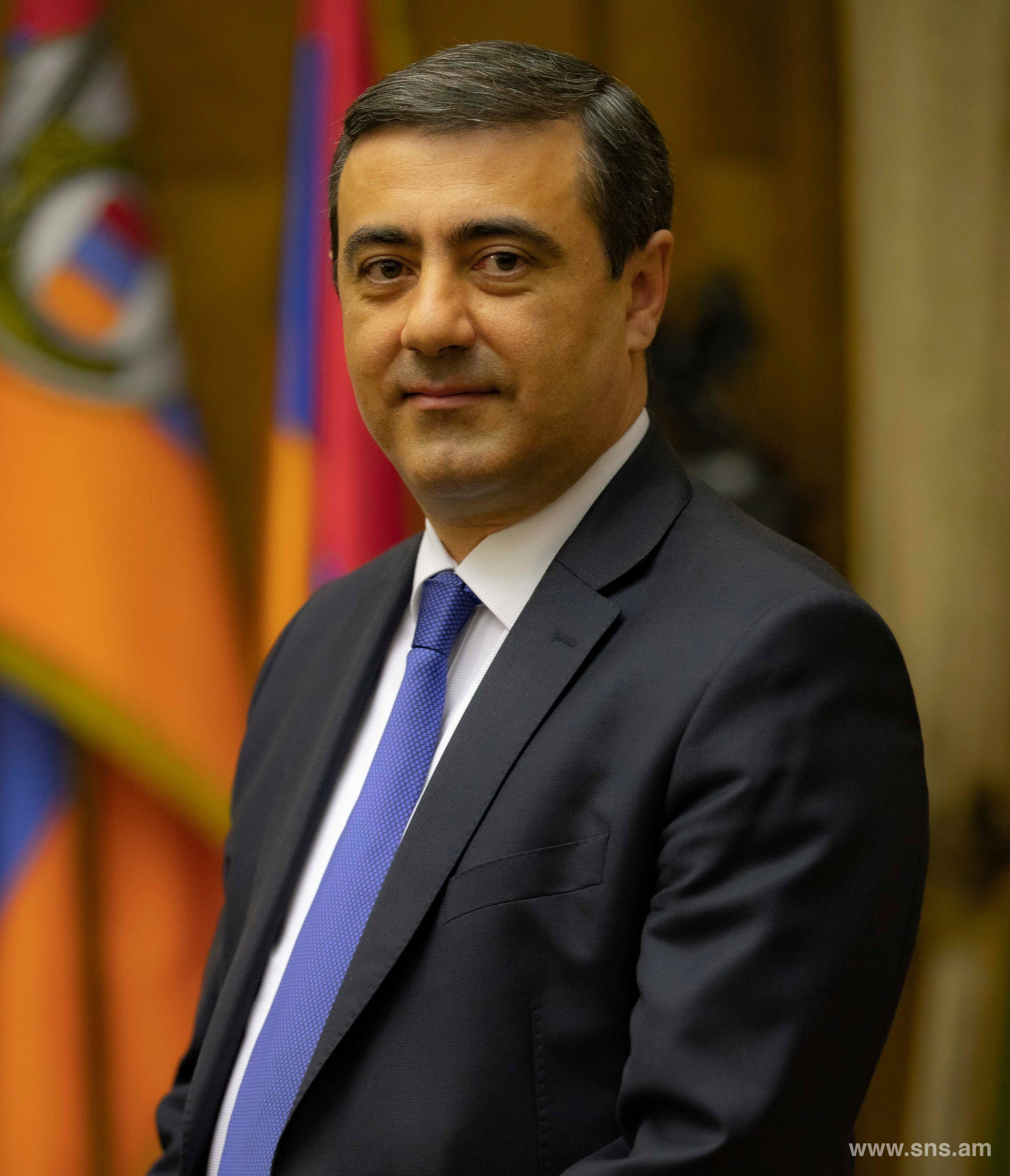 Eduard Martirosyan Appointed Director of RA NSS by Decree of RA President