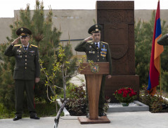 Border Guard Troops of the NSS of the RA celebrated the 28th anniversary of its formation
