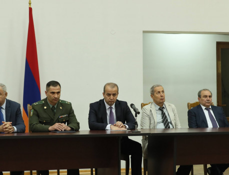 BORDER GUARD DAY WAS CELEBRATED IN THE ADMINISTRATIVE COMPLEX OF THE RA NSS BORDER GUARD TROOPS (VIDEO)
