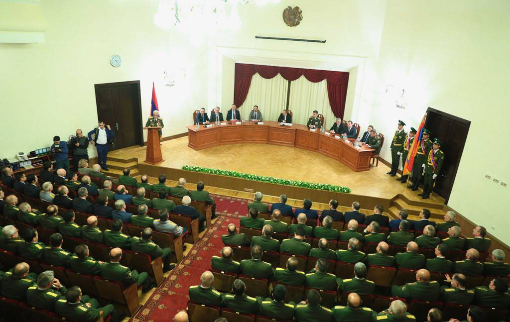 The 100th Anniversary of the Formation of Armenian Security Bodies