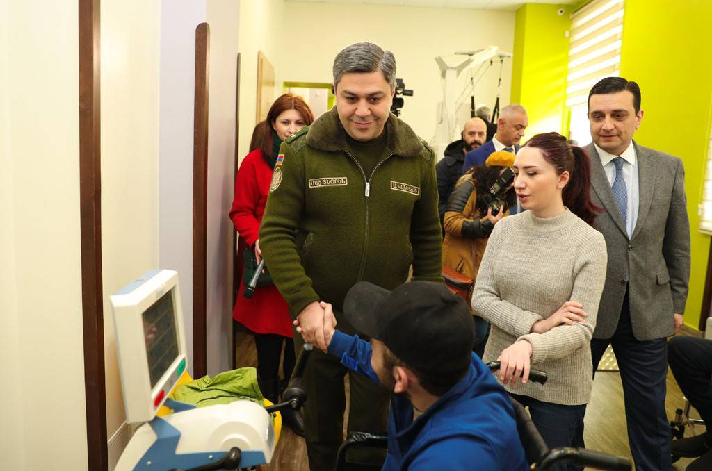 Director of the NSS of RA Artur Vanetsyan visited Homeland Defender's Rehabilitation Center